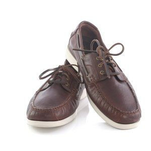 Cole Haan Grand OS Leather Boat Shoes Loafers
